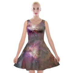 Orion Nebula Velvet Skater Dress by SpaceShop