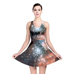 Star Cluster Reversible Skater Dress by SpaceShop