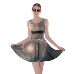 Whirlpool Galaxy And Companion Skater Dress