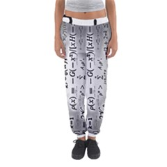 Science Formulas Women s Jogger Sweatpants