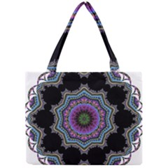 Fractal Lace Mini Tote Bag