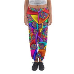 Color Spiral Women s Jogger Sweatpants