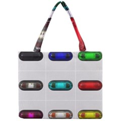 9 Power Button Mini Tote Bag