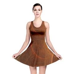 Fractal Color Lines Reversible Skater Dress by Simbadda