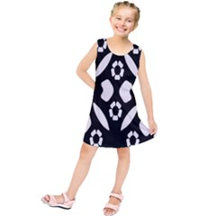 Abstract Background Pattern Kids  Tunic Dress by Simbadda