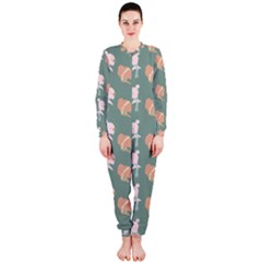 Lifestyle Repeat Girl Woman Female Onepiece Jumpsuit (ladies)  by Alisyart
