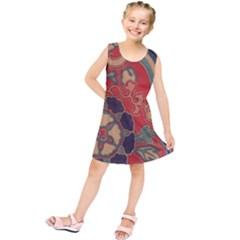 Vintage Chinese Brocade Kids  Tunic Dress by Amaryn4rt