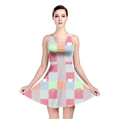 Patchwork Reversible Skater Dress by Valentinaart