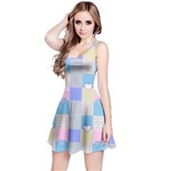 Patchwork Reversible Sleeveless Dress by Valentinaart