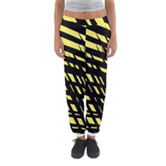Doodle Shapes Large Scratched Included Women s Jogger Sweatpants
