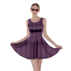 Plaid Purple Skater Dress