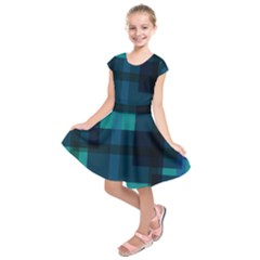 Boxes Abstractly Kids  Short Sleeve Dress by Amaryn4rt