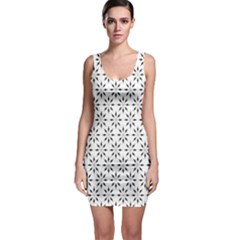 Pattern Sleeveless Bodycon Dress by Valentinaart