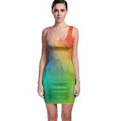 Rainbow Bodycon Dress by Wanni