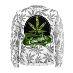 Cannabis Men s Sweatshirt by PattyVilleDesigns
