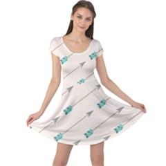 Arrow Quilt Cap Sleeve Dresses by Alisyart
