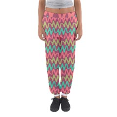 Abstract Seamless Abstract Background Pattern Women s Jogger Sweatpants