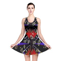 Diamond Manufacture Reversible Skater Dress by Simbadda