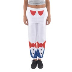Peppermint Butler Wallpaper Face Women s Jogger Sweatpants