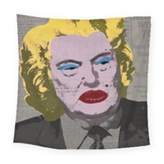 Happy Birthday Mr  President  Square Tapestry (large) by Valentinaart