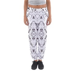Pattern Monochrome Terrazzo Women s Jogger Sweatpants