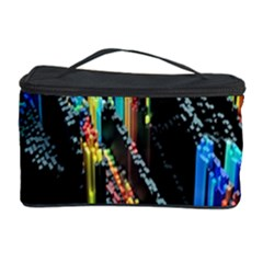 Abstract 3d Blender Colorful Cosmetic Storage Case by Simbadda