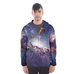 Galaxy Hooded Wind Breaker (men)
