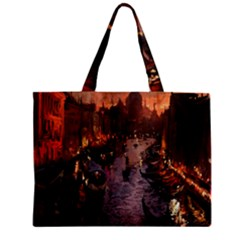 River Venice Gondolas Italy Artwork Painting Mini Tote Bag