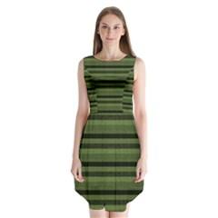 Lines Sleeveless Chiffon Dress   by Valentinaart