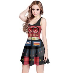 Robot Reversible Sleeveless Dress