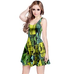 Don t Panic Digital Security Helpline Access Reversible Sleeveless Dress