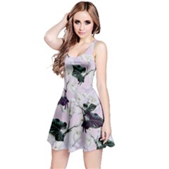Lily Floral Sleeveless Skater Dress by CoolDesigns
