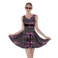 Dark Photorealistic Galaxy Design Skater Dress