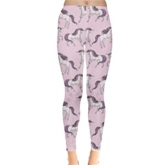 Purple Unicorn Seamless Women s Leggings by CoolDesigns