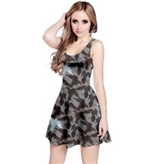 Gray Reversible Sleeveless Dress by CoolDesigns