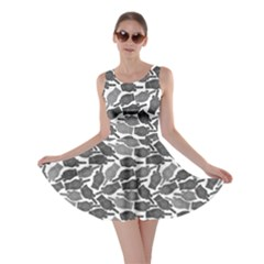 Finger Shadow Skater Dress