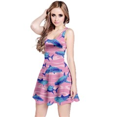 Pink Shark Reversible Sleeveless Dress