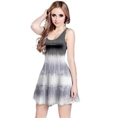Gray Stripes Sleeveless Dress by CoolDesigns