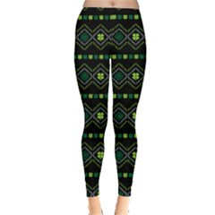 Shamrock Tribal Leggings