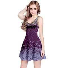 Purplesnowy Sleeveless Skater Dress