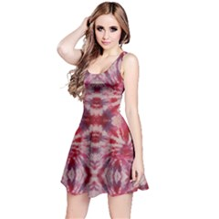 Red Tie Dye Sleeveless Dress by CoolDesigns