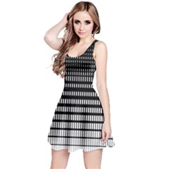 Dark Gradient Reversible Sleeveless Dress