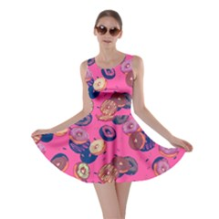 Hot Pink Donut Skater Dress