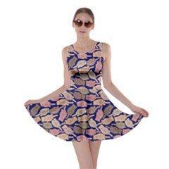 Navy Finger Skater Dress by CoolDesigns