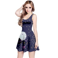 Witch Night Reversible Sleeveless Dress