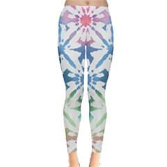 Colorful Tie Dye Leggings