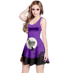 Purple Booo Reversible Sleeveless Dress by CoolDesigns