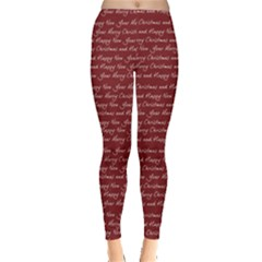 Xmas Blessing Leggings  by CoolDesigns