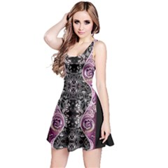 Dark Damask Sleeveless Dress