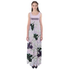 Zantedeschia Empire Waist Maxi Dress by CoolDesigns